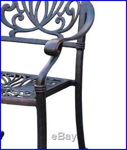 11 piece outdoor dining set Elisabeth patio cast aluminum furniture 10 person