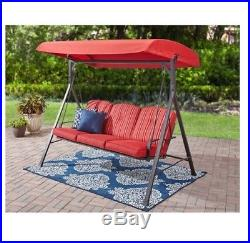 3-Seat Cushion Swing Forest Hills Chair Outdoor Seat Patio Garden Yard Durable