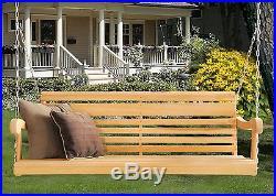 5 Ft Scandinavian Grandpa Porch Swing Rot-resistant Select Cypress Lumber C1514