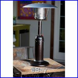AZ Patio Heater Portable Hammered Bronze Tabletop Heater