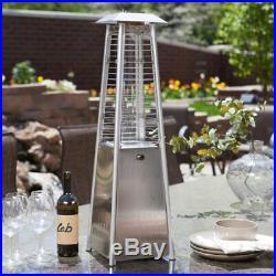 AZ Patio Heater Stainless Steel Glass Tube Tabletop Heater