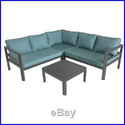 Aluminium Lounge Set Sitzgruppe Loungegarnitur Gartenmöbel Sitzgarnitur Garten