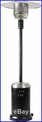 Basics Commercial, Propane 46,000 BTU, Outdoor Patio Heater with Wheels