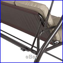 Best Choice Products Converting Outdoor Swing Canopy Hammock Seats 3 Patio De