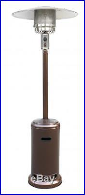 Bronze Garden Outdoor Patio Heater Propane Standing LP Gas Steel withaccessorie 87