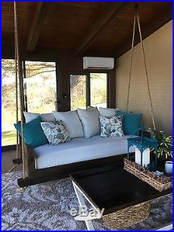 Cedar Hanging Swing Bed Daybed
