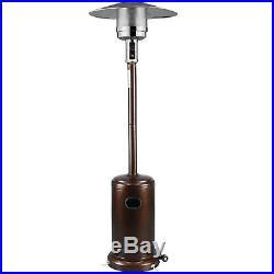 Commercial LP Gas Outdoor Patio Garden Heater Propane Stainless Steel Bronze