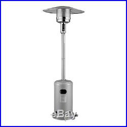 Commercial LP Gas Outdoor Patio Garden Heater Propane Stainless Steel Four Color