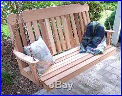 Creekvine Designs 5' Cedar Classic Porch Swing