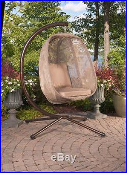 Egg Chair Hanging Indoor Outdoor Patio Furniture With Stand Girlfriend Gift Idea