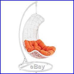 Endow Rattan' Outdoor Wicker Patio Swing Chair