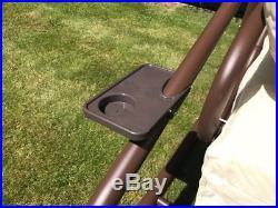 Gardman Somerset 3 Seater Swinging Hammock Bed Heavy Duty Garden Bench Patio
