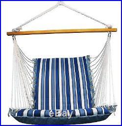 Hammock Outdoor Furniture Hanging Chair Swing Rope Patio Garden Lounge Yard Deck