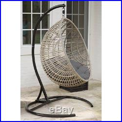 Astounding Hanging Egg Chair Wicker With Cushion And Stand Swing Kids Ncnpc Chair Design For Home Ncnpcorg