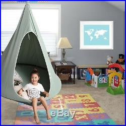 Hanging Hammock Chair Hang Out Cocoon Tent Panda Pod Swing Kids NEW