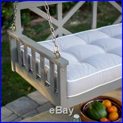 Hanigng Porch Swing Furniture Outdoor Cushion Deep Seating Chair Bench Patio