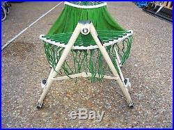 Indoor/outdoor kid's Hammock Swing Bed with Heavy Duty Adjustable Metal frame