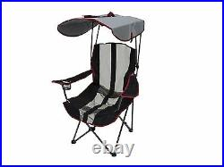 Kelsyus Premium Foldable Outdoor Lawn Camping Chair withCup Holder and Canopy