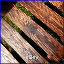 LOG CABIN PORCH SWING Patio Deck Dock Yard Outdoor Garden Furniture Bench Seat