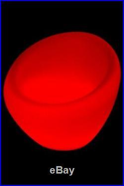 Luminatos BERLIN, LED Sessel beleuchtet Farbwechsel Fernbedienung Leuchtsessel