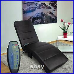 Massage Chaise Lounge PU Leather Ergonomic Electric Recliner Chair