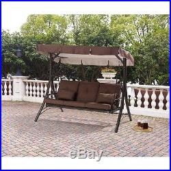 New Converting Outdoor Mainstays Swing/Hammock, Seats 3