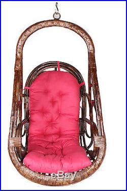 Novelty Cane Art indoor hanging swing chair hammock rattan bamboo