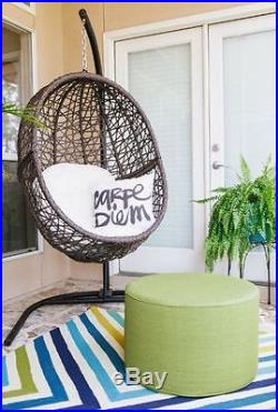 Patio Furniture Clearance Hanging Egg Chair Hammock Swing Outdoor Stand  Wicker