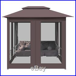 Patio Furniture Outdoor Gazebo Swing Chair Sunbed Backyard Hammock Canopy Tent
