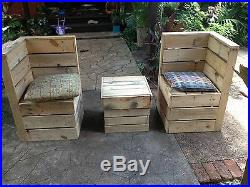 Patio Furniture recycled shipping pallets
