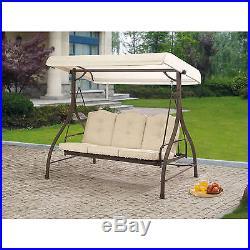 Swing Seat Canopy 3 Person Hammock
