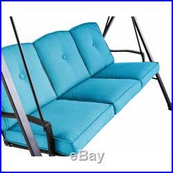 Plush Cushion 3 Seat Outdoor Garden
