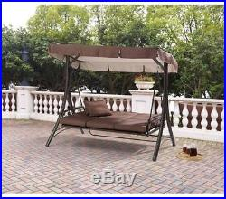patio swing with canopy cushions outdoor backyard chair deck 3 person hammock patio swing with canopy cushions outdoor backyard chair deck 3      rh   gardenswings name