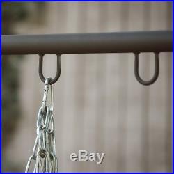 Porch Swing Stand Metal Universal Patio Deck Backyard Furniture Hanging A-Frame