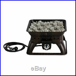 Portable Fire Pit Outdoor Patio Heater Backyard Camping Fireplace Gas Heater