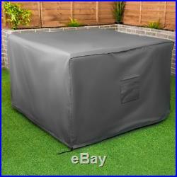 Premium Heavy Duty Waterproof Rattan Cube Cover Outdoor Garden Furniture Rain