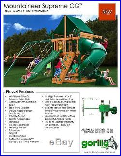 Preschool Commercial Swing Set Playground Outdoor Exercise Gym Playset Slides