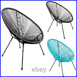 Rattan String Chairs Moon Egg Modern Stylish Funky Furniture Indoor Outdoor New