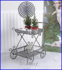 Servierwagen Teewagen Eisen Rollwagen Küchentrolley Vintage Küchenwagen