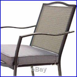 Set Of 6 Patio Dining Chairs Cushions Garden Bistro Outdoor Furniture Backyard