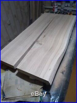 Solid Oak Slab Epoxy resin Table top Rustic (In process)