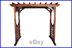 Solid Wood Quality Outdoor Patio Arbor With Swing Made in USA