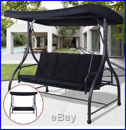 Swing Sets For Backyard Chair Bench Hanging 3 Seats Cushion Outdoor Furniture