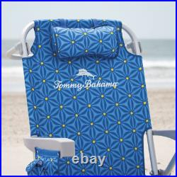 The Tommy Bahama Back Pack Beach Chair. Foldable, Adjustable Backpack Deck Chair
