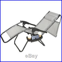 Thicken Zero Gravity Chairs Case Of 2 Lounge Patio Folding Chairs With Canopy