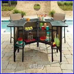 Top Quality Garden Oasis Harrison 5 pc. Outdoor Bar Set