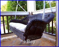Wicker Porch Swing-Garden Swing