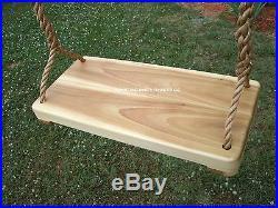 Wood Tree Swings (Poplar Wide)