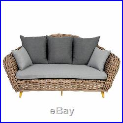 XXL Outdoor Sofa Gartensofa Gartenliege Garten Couch Gartenmöbel Lounge Garten